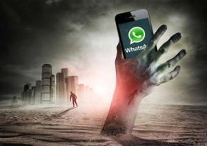 El Apocalipsis en forma de Tuit: Whatsapp ha muerto llevándose con él a cientos de cerebros.