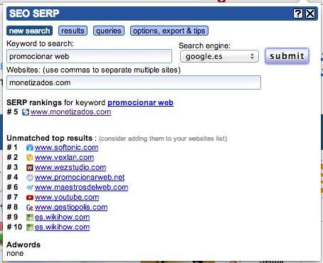 posicion-en-buscadores-de-una-keyword