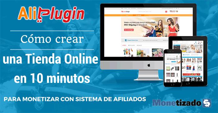 Cómo crear tienda online en 10 minutos para ganar dinero con Afiliados