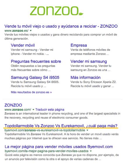 resultados-en-google-de-zonzoo