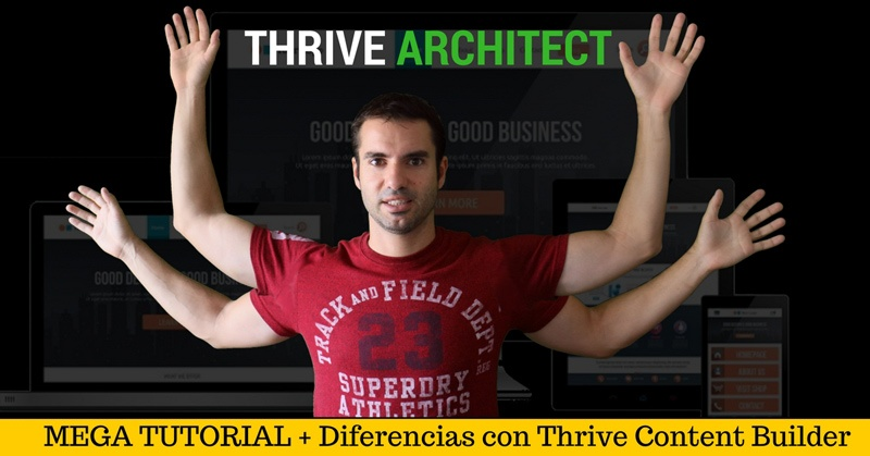 thrive architect tutorial completo migracion thrive content builder